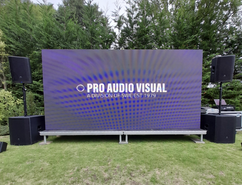Pro Audio Visual  Provide Outdoor Cinema's